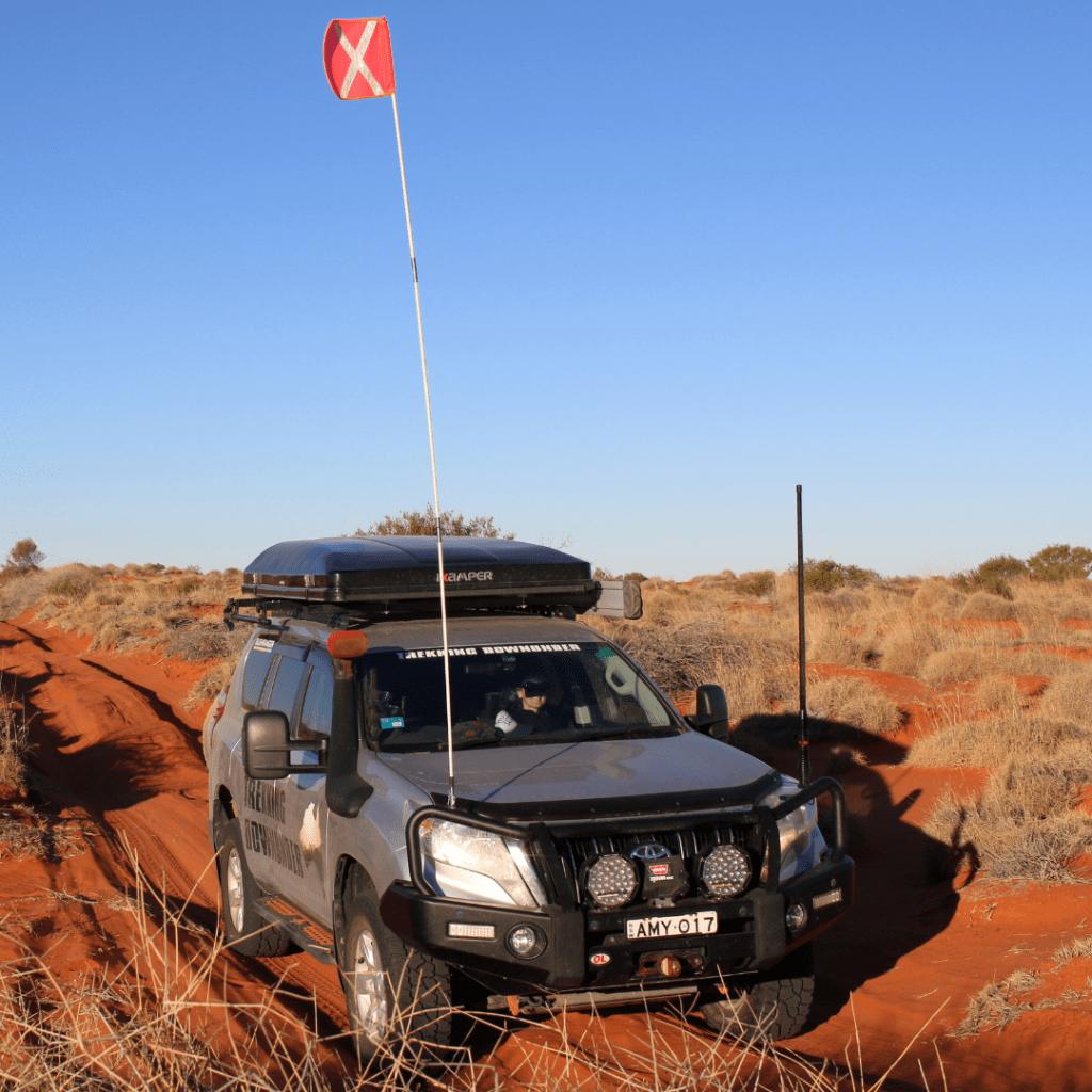 Simpson Desert Crossing