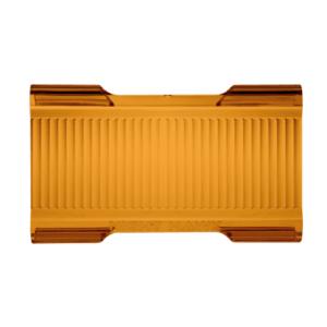 Light Bar Protective Cover Amber Flood Beam